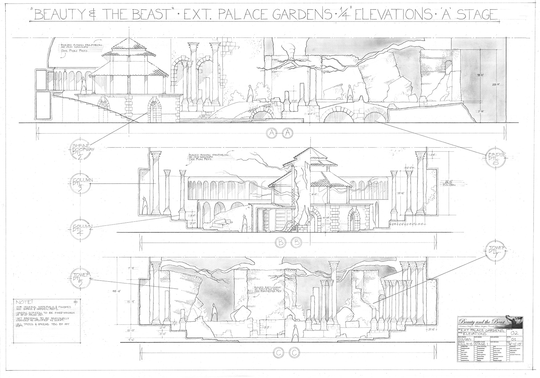 Will Houghton-Connell - Draughting B&B Elevations