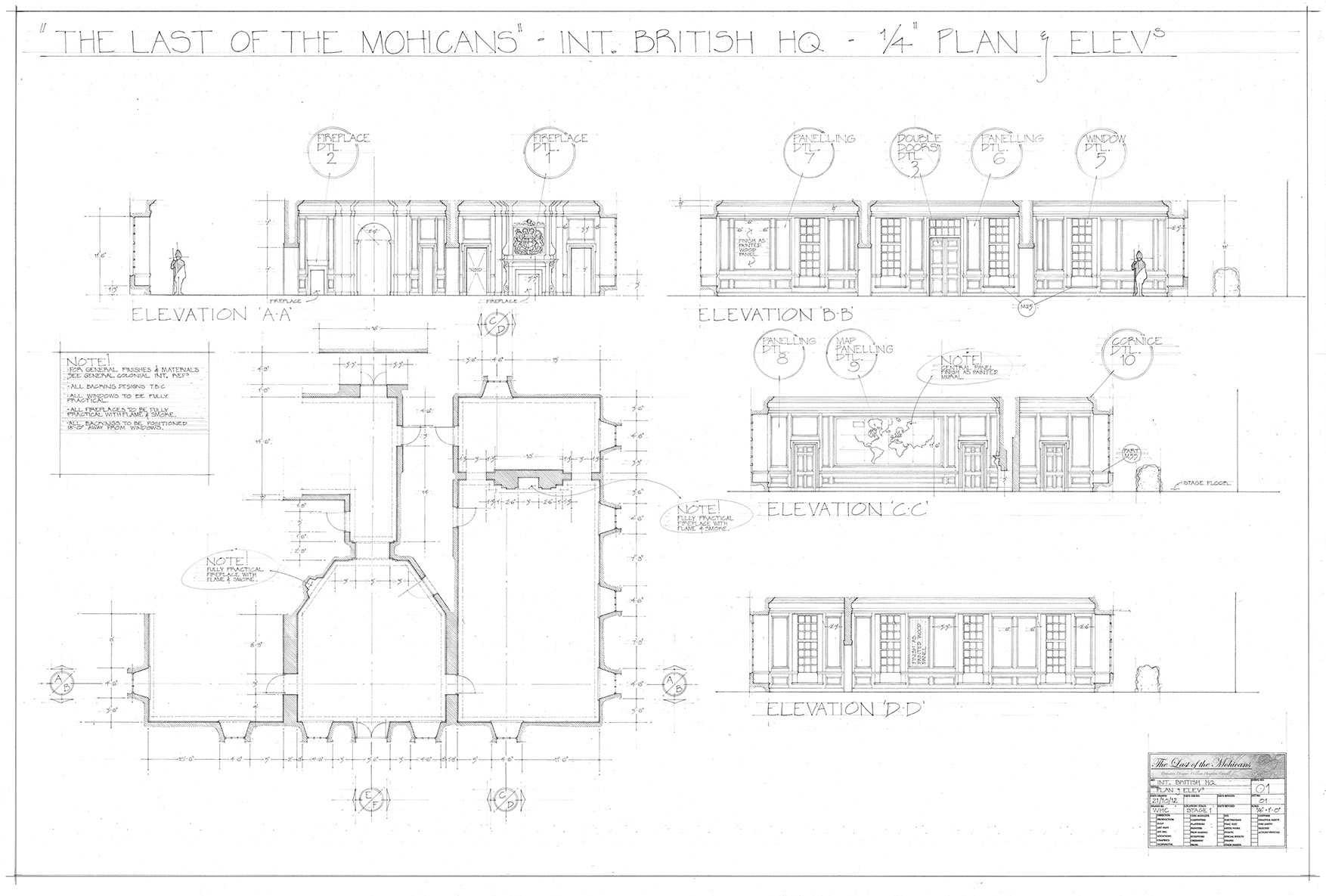 Will Houghton-Connell _ Draughting Building Interior