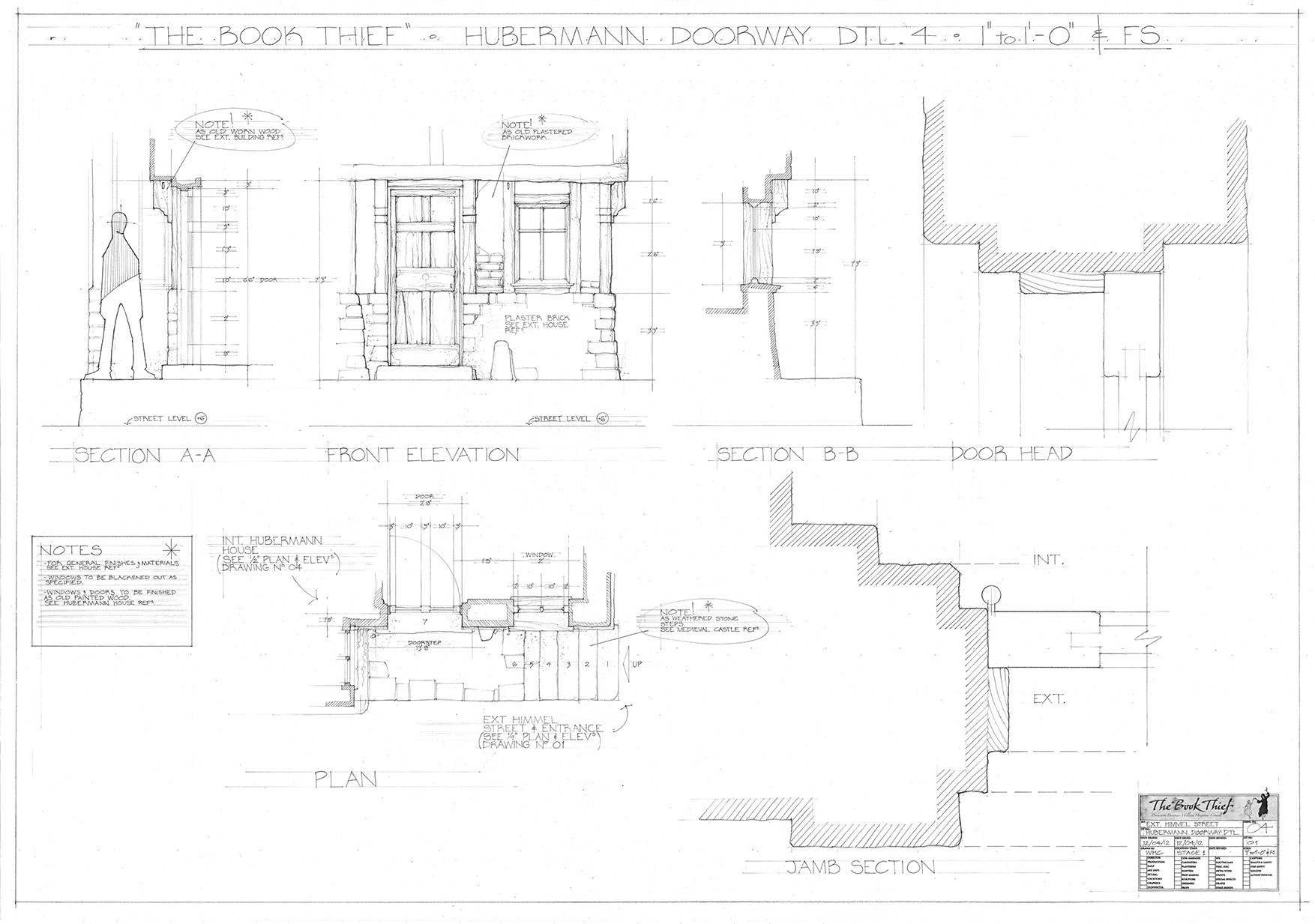 Will Houghton-Connell - Draughting Building Door Dtl.