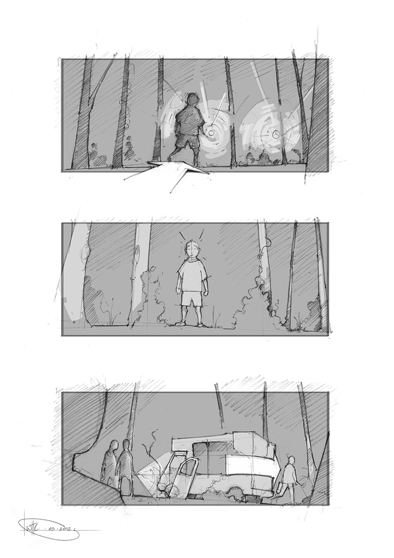 Will Houghton-Connell - Storyboard 1