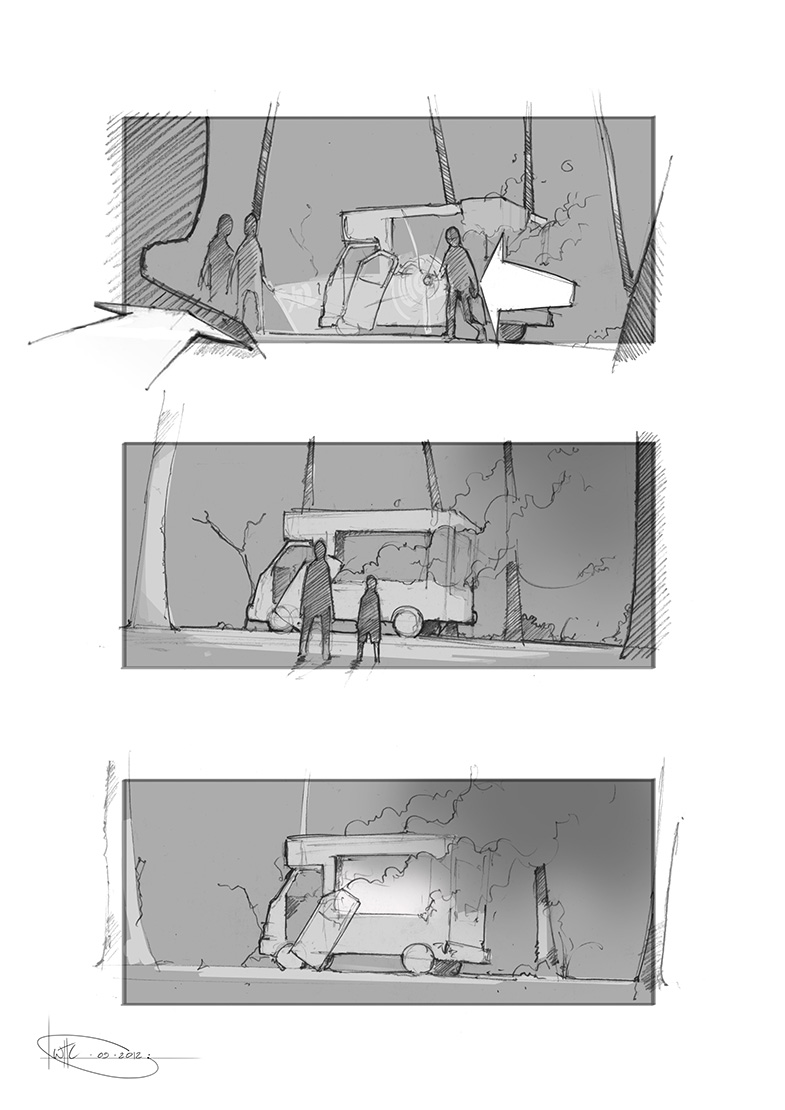Will Houghton-Connell - Storyboard 2