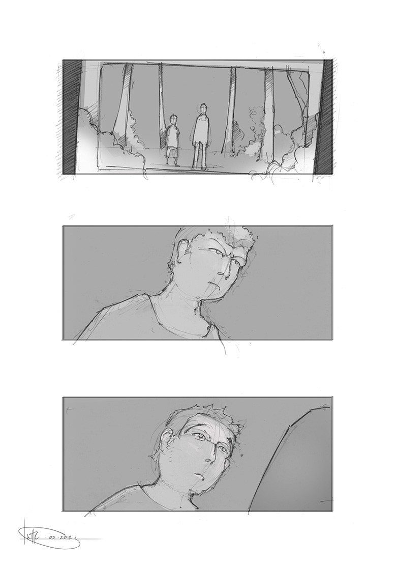 Will Houghton-Connell - Storyboard 3